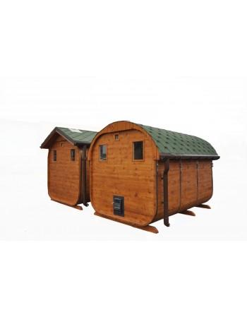 Sauna saune in legno da esterno finlandese