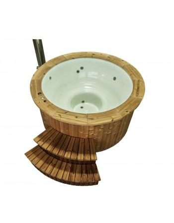 Hot tubs in vetroresina 182 cm. Modello Wellness base