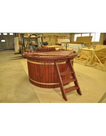 Spa vasca riscaldabile 180 m in legno di abete
