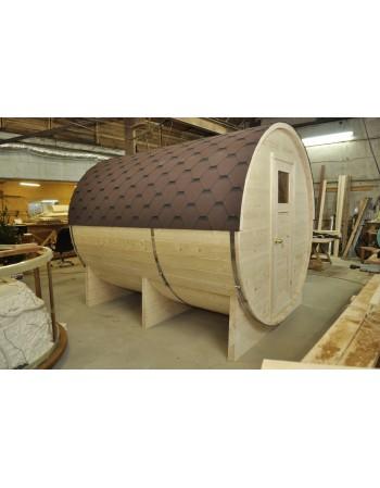 Sauna FINLANDESE a forma di botte