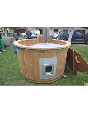 Hot tub spa 150 cm da bagno in legno Termico