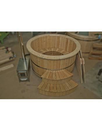 Tinozza in legni di Larice 180 cm