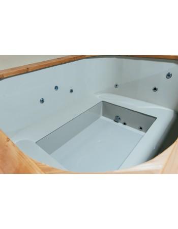 Mini piscina all'incasso  160 cm x 200 cm Spa Idrogetti