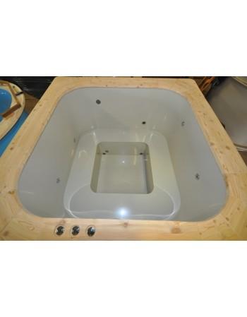 Minipiscina DELUX comfort  160x160x100 Modello base, completa accessori spa