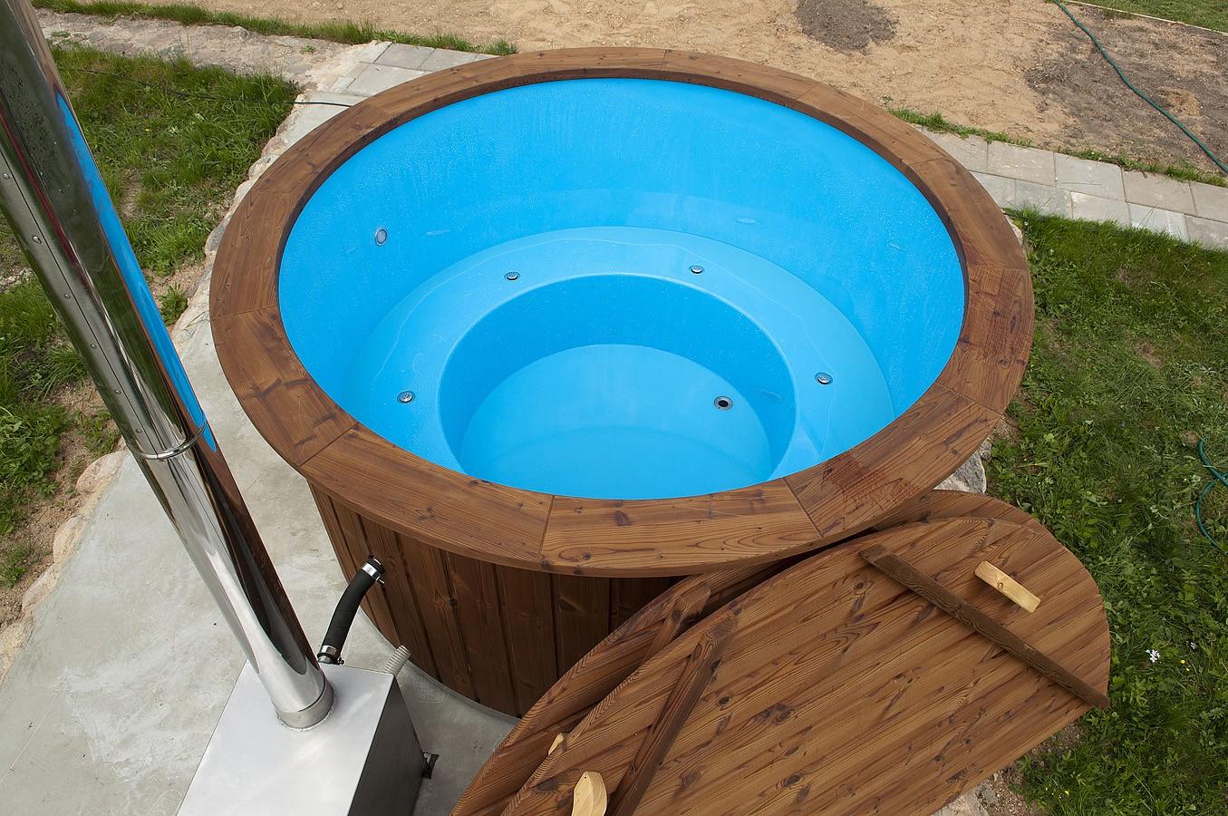 Spa tinozza vasca tinozza vasca in vetroresina hot tub team